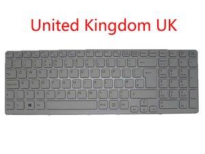 Ноутбук UK HU BE GK SL клавиатура для SONY для VAIO SVE151 SVE17 Венгрия Великобритания Бельгия Греция Словенский 149169511BE Новый