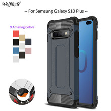 For Cover Samsung Galaxy S10 Plus Case TPU & PC Armor Phone Case For Samsung Galaxy S10 Plus Cover For Samsung S10 Plus G975 чехол для samsung galaxy s10 sm g975 silicone cover белый