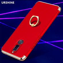 Fashion Case for HUAWEI MATE 10 Lite Case Christmas Red Blue Gold Plating 3in1 Full Protective Mobile Phone Hard Back Cover Capa