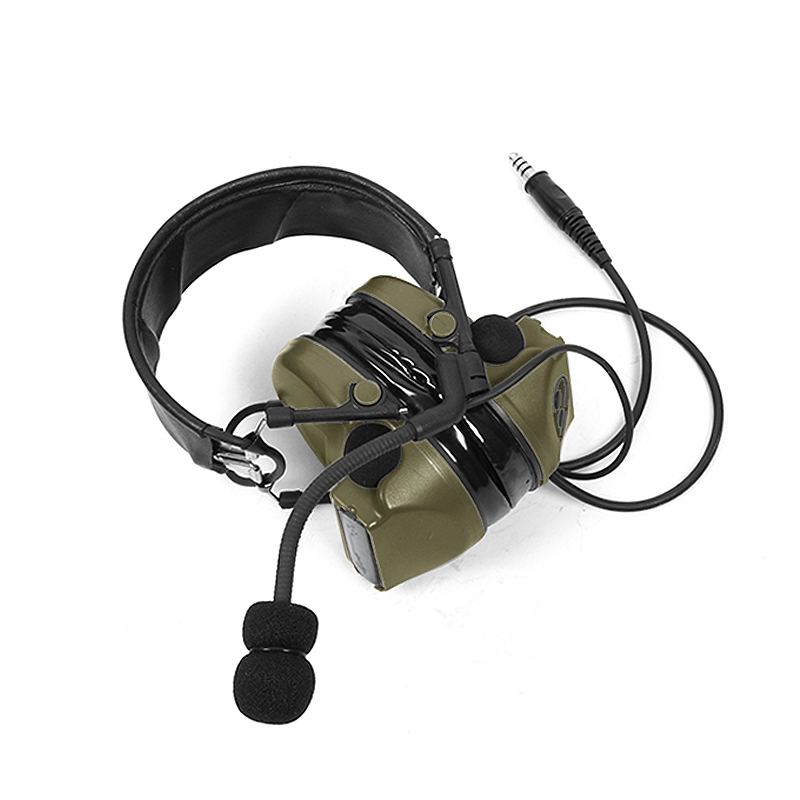Image 4 - TAC SKY COMTAC II silicone earmuffs outdoor tactical hearing defense noise reduction pickup military headphones FG-in Walkie Talkie Parts & Accessories from Cellphones & Telecommunications