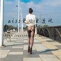 Ultra-thin seamless 10d stovepipe sexy stockings velvet low-waist female abdomen drawing legging