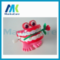 20 Pcs Toys wholesale spring Creative Dental Gift Dental Toys wholesale spring / Plastic Toys Jump Teeth with Chain for Children