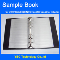 Free Shipping Resistor Capacitor Inductor SMD Sample Book For 0402 0603 0805 1206 Electronic Component