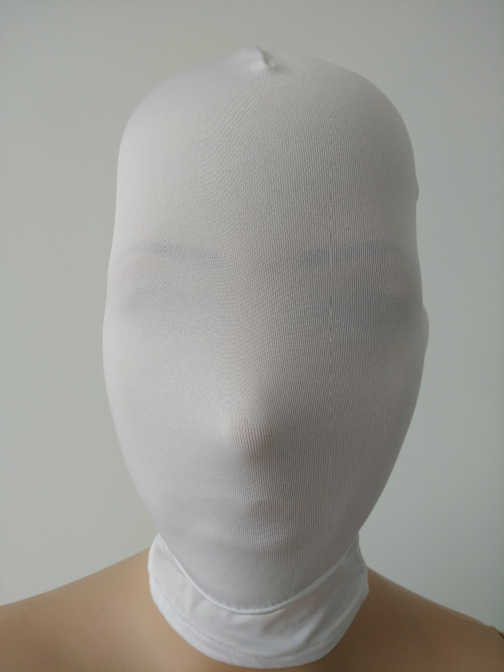 Zip Face Scary halloween mask lycra printed face mask slenderman