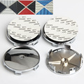 4pcs 68mm Carbon Fiber Black/white Blue/White Black/Red Car Wheel Center caps for BMW emblem Badge Auto Wheel Hub Caps Logo