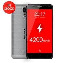 Ulefone Тигр Матового Металла большая батарея 4200 мАч 5.5 дюймов MTK6737 Quad ядро Android 6.0 2 ГБ RAM 16 ГБ ROM 4 Г Отпечатков Пальцев Dual SIM