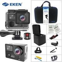 EKEN H5s Plus 4K+ Touch Screen Camera Ambarella A12 Chipset 4K Image Stabilization WiFi Sony Sensor Sensor 2.0 Inch Touch Screen