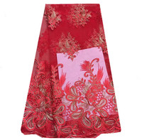 AP11 red!african swiss voile lace high quality mesh lace,free shipping african french lace fabric