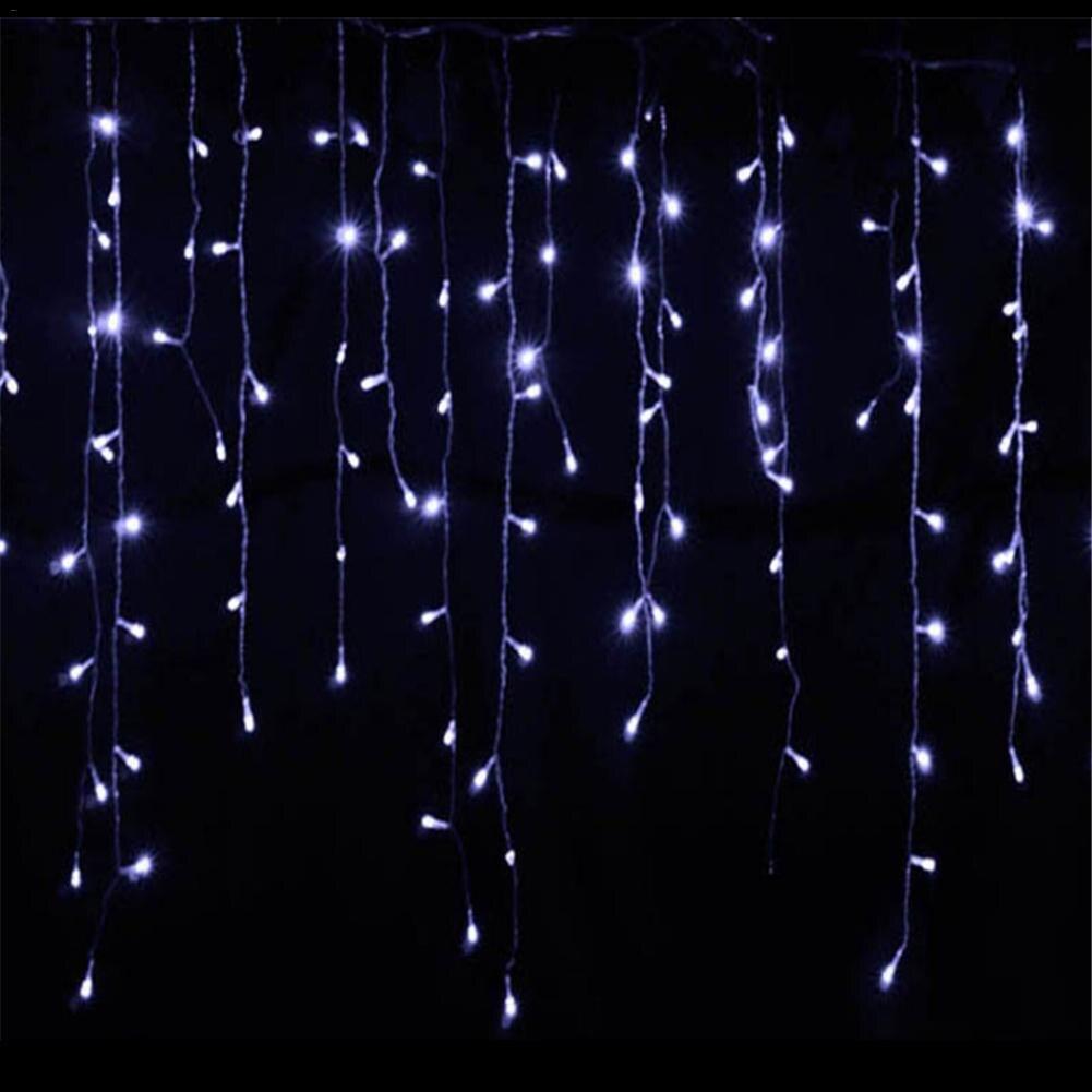Kaigelin LED Solar Fairy Lights 200 LED String Lights White/Blue Flashing Light String Solar Garland Lights Chain For Christmas white 200 led white christmas ornamental string lights 4 5 meter 220v ac