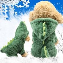 Одежда для собак кошек милый динозавр преображение пальто платье аксессуары для собак Mascotas Ubranka Dla Psa товары для собак Ropa Perro