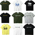 1:1 Gosha Rubchinskiy Paccbet T Shirt Das Mulheres Dos Homens de Alta Qualidade T-Shirt 100% Algodão Russa Gosha Top T-shirt de Manga Curta 3D Thrasher