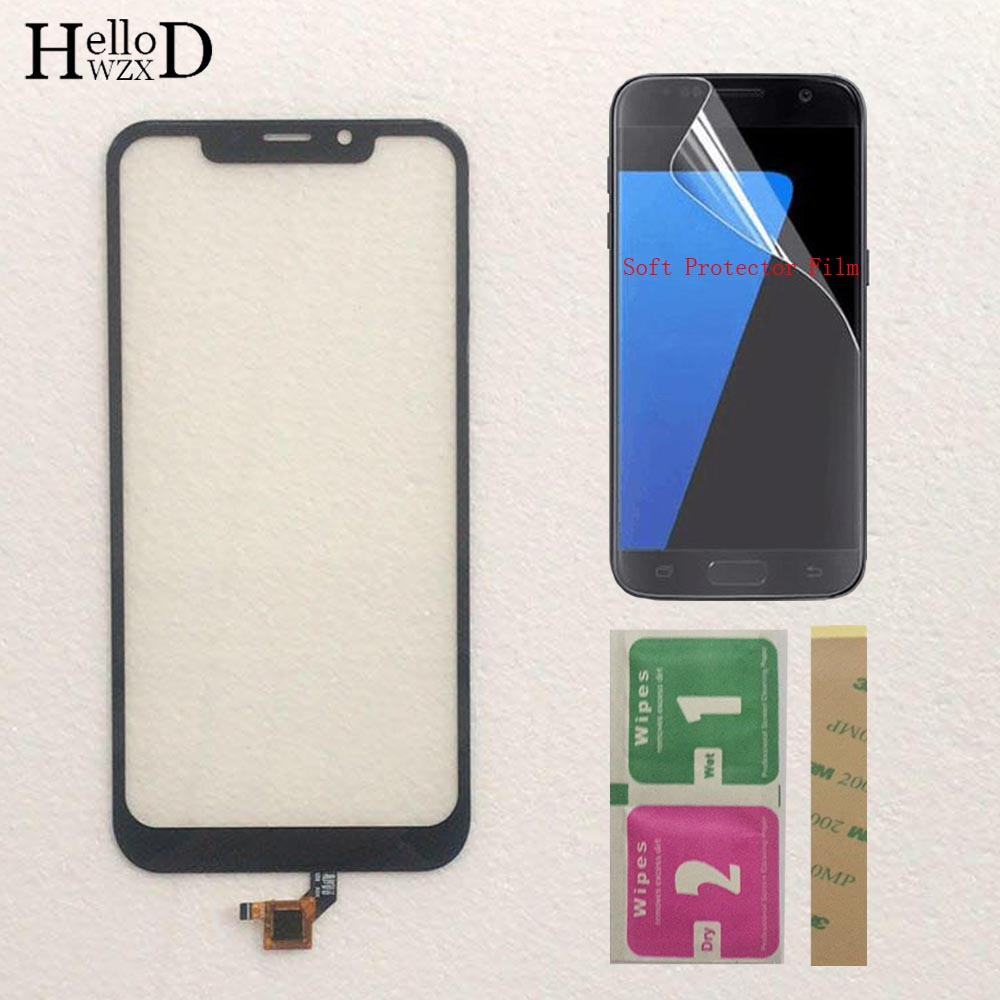 Mobile Touch Screen Glass For Leagoo M11 Touch Screen Front Glass Digitizer Panel Lens Sensor TouchScreen + Protector Film