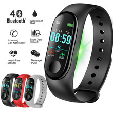 BANGWEI 2018 New smart sport watch Women Heart Rate Blood Pressure Monitor Smart Watch Men Fitness Tracker Pedometer Watch+band(China)
