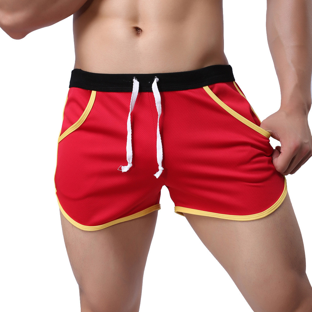 Men's Summer Sport Men's Board Shorts Swimwear New Style Fashion Simple Sports Fitness Shorts Home Beach Trousers