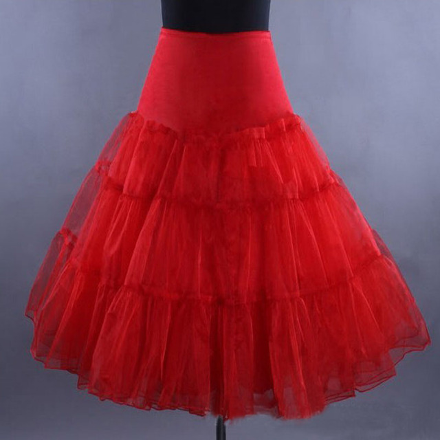 Girl Adult Tulle Tutu Skirts Vintage Knee Length Double Extra Teenage Women Party Dance