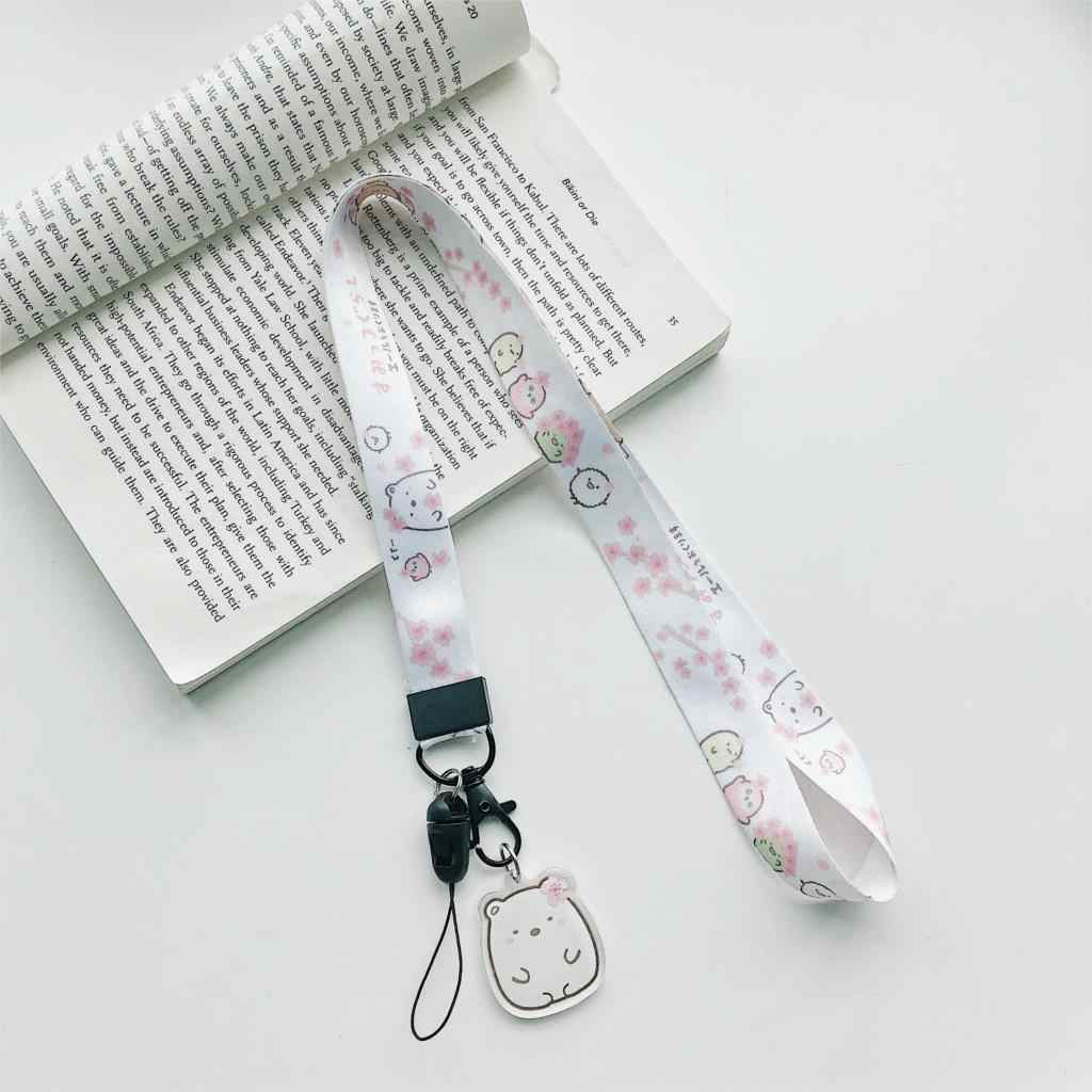 Cardcaptor Sakura Тоторо Единорог Улица Сезам шаблон ремень для телефона шеи ремень для камеры ID Карты Повесить веревочный брелок