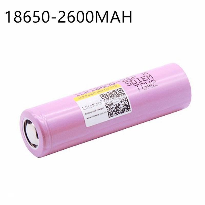 Liitokala ICR1865026FM New Original 100% For  18650 2600 mAh Li-ion Battery 3.7V Rechargeable