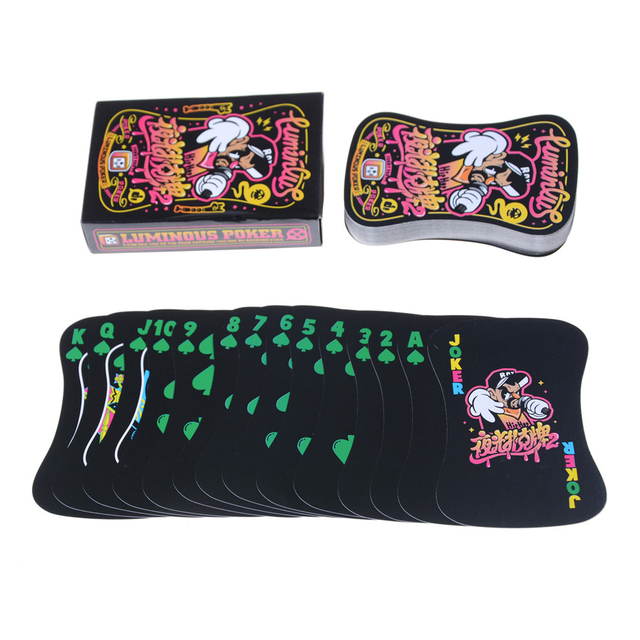 1set Board Game Gift Card Toys Fluorescence Bar Nightclub Nights