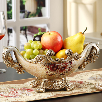 European household contracted fruit plate Retro Modern shuiguolan large living room coffee candy dish fruit tray