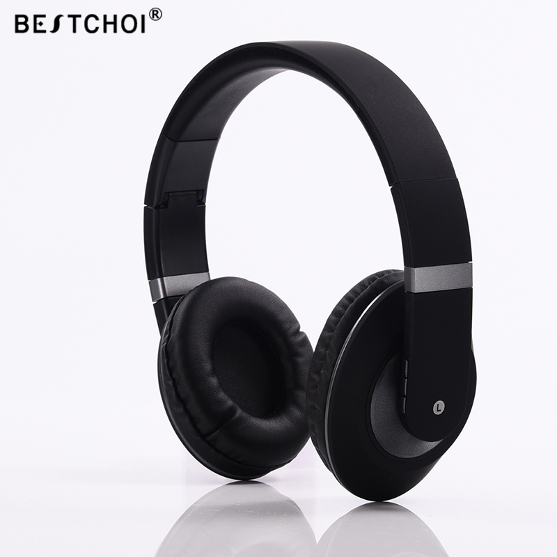 BESTCHOI Brand Wireless Bluetooth Headphone Stereo Bass Music Sound Headset Earphones with Mic For iPhone iPod MP3 MP4 Player picun p3 hifi headphones bluetooth v4 1 wireless sports earphones stereo with mic for apple ipod asus ipads nano airpods itouch4