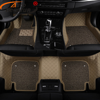Custom Fit Car Floor Mats For Subaru Outback Forester XV Legacy Tribeca Car Mat PVC Leather