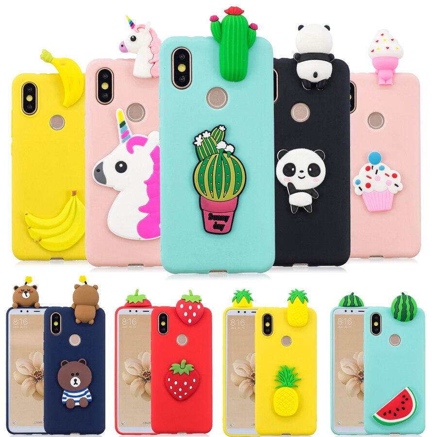 Silicone Cover For Funda Samsung Galaxy A30 A50 A20 A40 A10 A70 Case For Samsung A30 A50 Coque M30 M20 3D Panda Cactus Soft Case