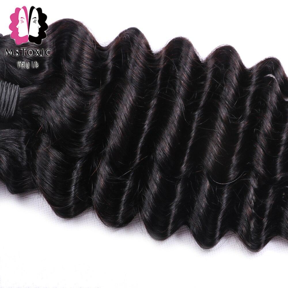 HTB1EOJsaEzrK1RjSspmq6AOdFXaV MsToxic Loose Deep Wave Bundles With Closure Brazilian Hair Weave Bundles With Closure Remy Human Hair Bundles With Closure