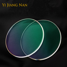 Yi Jiang Nan Brand 1.61 Index Anti UV Anti Reflection Myopia and Reading Prescription Lens Transparent Optical Recipe Lenses