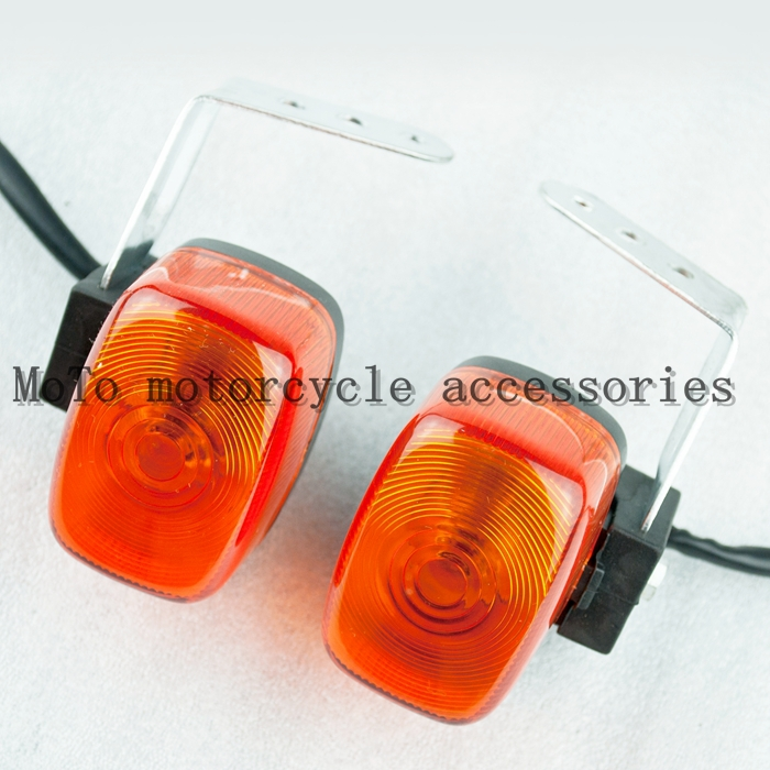 Front Turn Signal Lights Indicator For XT225 Deer 225 TTR250 Motorcycle Racing Street Bike Indicator Light Lamp