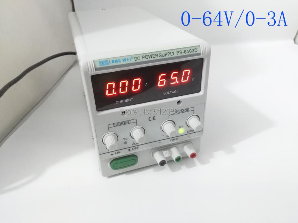 LW PS-6403D 0-64V/3A digital dc power supply,DC REGULATED POWER SUPPLY dc power supply uni trend utp3704 i ii iii lines 0 32v dc power supply