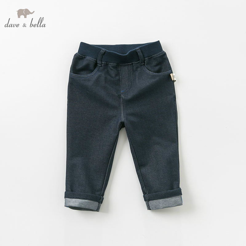 DBH9978 dave bella spring baby boys fashion pants children full length kids pants infant toddler trousersDBH9978 dave bella spring baby boys fashion pants children full length kids pants infant toddler trousers