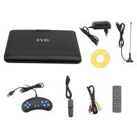 Portable DVD Player 9 8 Inch TFT LCD 270 Degree Swivel Screen Digital Multimedia Player EVD