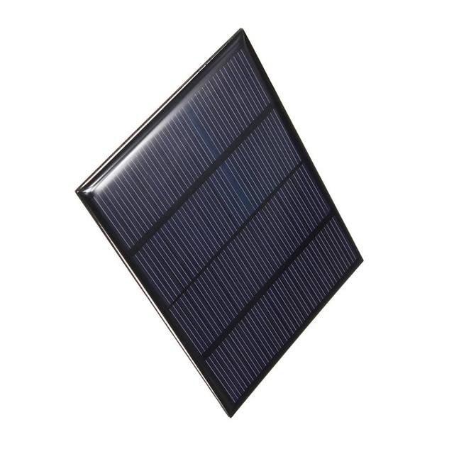 18V 1.5W Mini Polycrystalline Solar Panel Solar System Cells Battery Charger Module DIY 85*115*2mm
