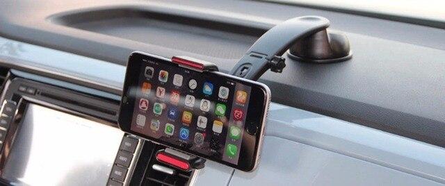 Автомобиль Air vent Клип Окно Всасывания Dashboard Стенд Мобильный Телефон Автомобильный Держатель Крепления Для Fly IQ4405 IQ4415 IQ4416 IQ4503 IQ4514