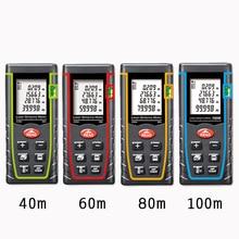 Cheaper Hand-held laser range finder infrared measuring instrument electronic scale laser ruler