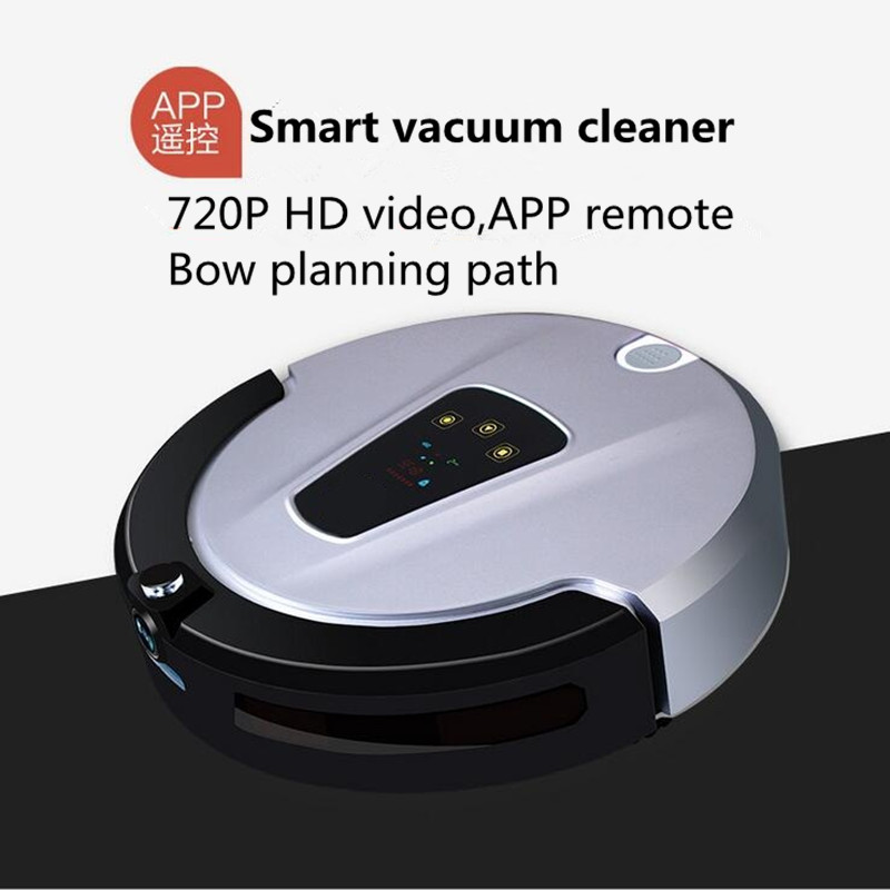 LUCACI Robot Vacuum Cleaner For Home (Sweep,Vacuum,Mop,Sterilize) With Remote control, LCD touch screen multifunctional vacuum cleaning robot sweep vacuum mop sterilize lcd touch screen schedule cleaning robot
