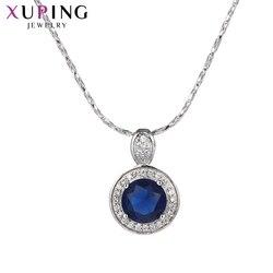 Xuping wdzięku prosty mały wisiorek urok projekt biżuteria dla kobiet dzień matki prezent M35-3008