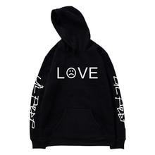 018ebe59c5e49 Daddy Chen Lil Peep Love Lil.peep Men Sweatshirts Hooded Pullover  Sweatershirts