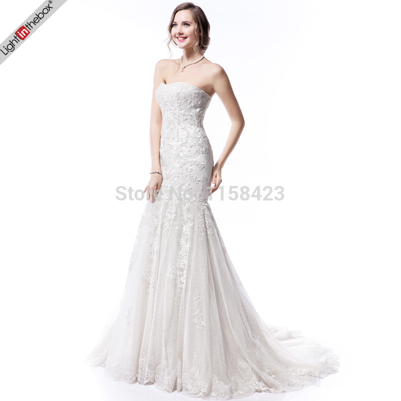 aliexpresscom buy petite wedding dress casual dresses short sexy designer on sale cheap beach mermaid floor length court train lace 2015 discount from