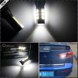 Image 4 - 2pcs 21 SMD לבן/אדום כפול צבע 7440 7444 T20 LED החלפת נורות לרכב גיבוי הפוך אורות & אחורי ערפל מנורת המרה