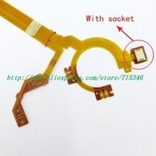 جديد عدسة مصراع فتحة الكابلات المرنة ل فوجي فوجي فيلم XF 1 XF1 كاميرا رقمية إصلاح الجزء مع المقبس