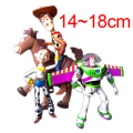 4pcs/lot Toy Story 3 Buzz Lightyear Woody Jessie PVC Action Figures Toys Dolls Child Toys Free Shipping