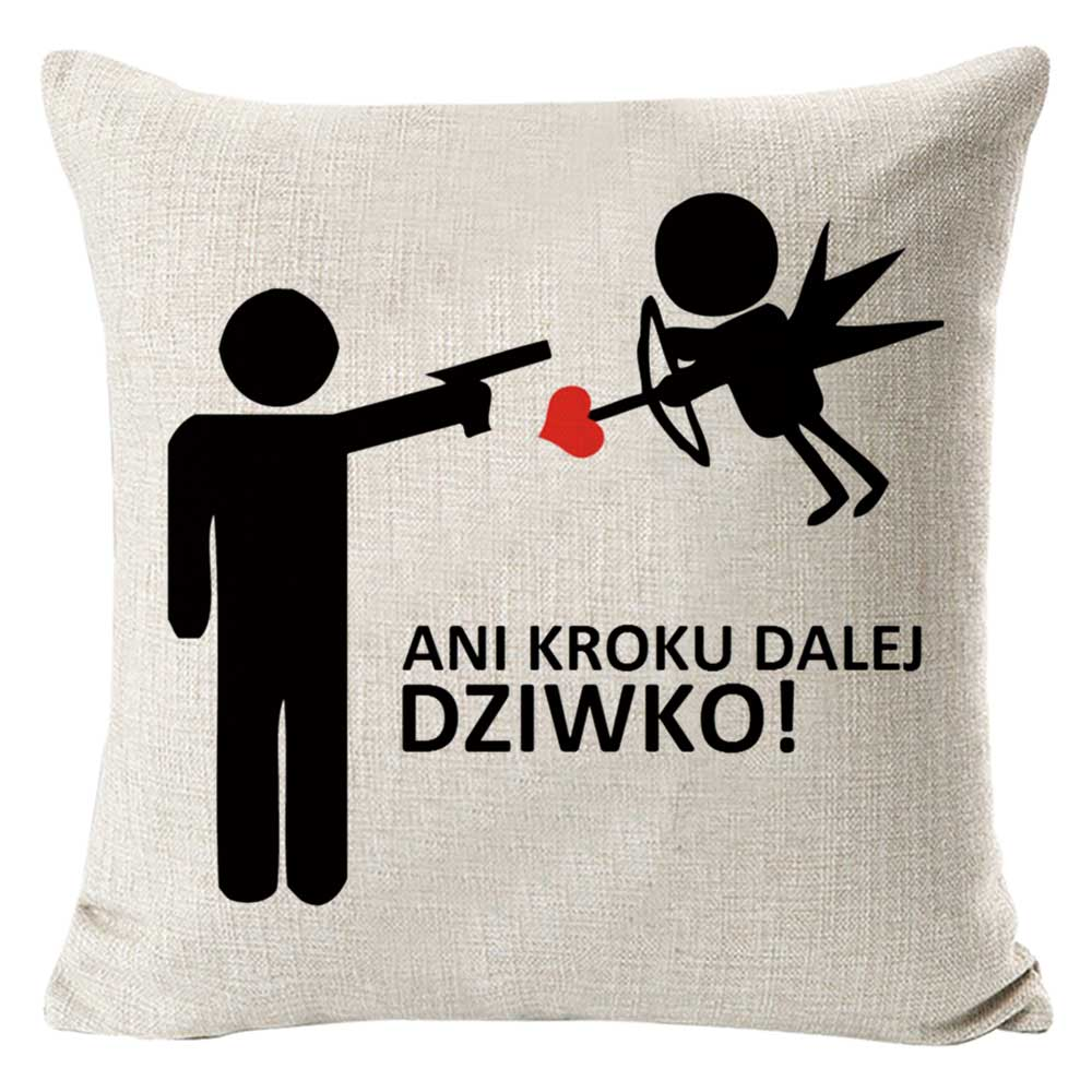 PEIYUAN XOXO Lovers Throw Pillow Cover 18 Inches Sex Cushion Cover I Love Game Cotton Linen Fabric Pillow Valentines Day Gift