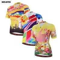 2017 MILOTO Pro Team Kobiet Ropa Ciclismo Jazda Na Rowerze Jersey Koszulka Z Krótkim Rękawem Odzież Rowerowa Rower Kurtka Topy