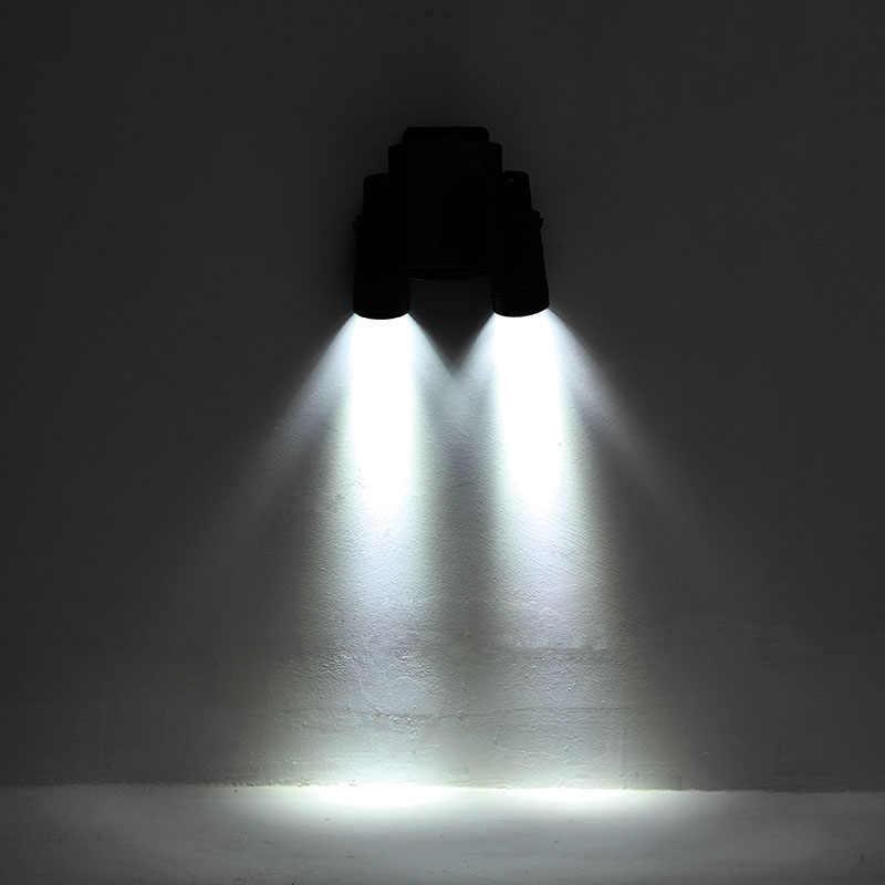 TAMPROAD Открытый 14 светодиодный солнечной энергии с двойной головкой PIR датчик движения садовая настенная точечная Ночная световая охранная лампа вращающийся точечный свет