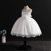New girls festive dress girl wedding baby clothes tutu  birthday party dance performance and hosting