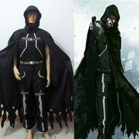 Hot Sword Art Online 2 Phantom Bullet Gun Gale Online GGO Death Gun Sterben Cosplay Costume Tailor made Free Shipping