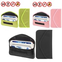 Anti Spy Signal Blocker Pouch Stop Cell Phone GPS RFID Tracking Bugging Bag Protect Your Privacy