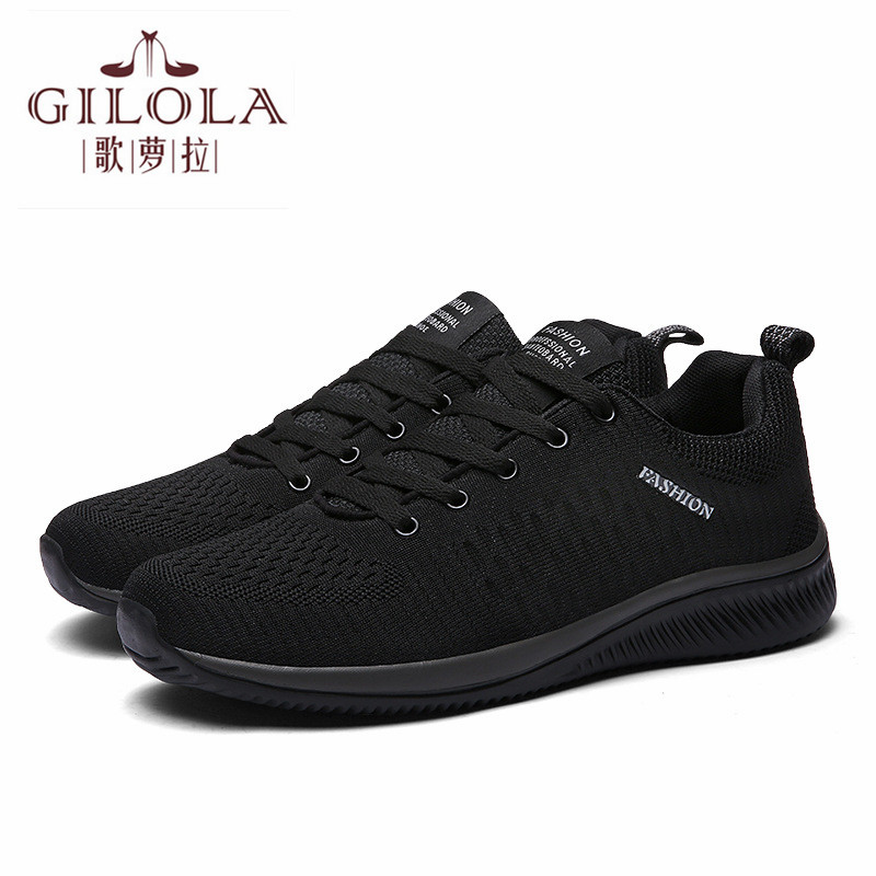 New Fashion Men Sneakers Flat Shoes Breathable Casual Spring Summer Soft High Leisure Lace Up Running Shoes Best #Y0051356Y(China)