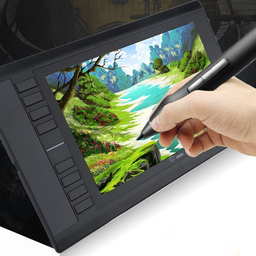Ultra Thin Portable Electronic Digital Tablet Graphics Drawing Tablet Pad Hand Writing Board ...